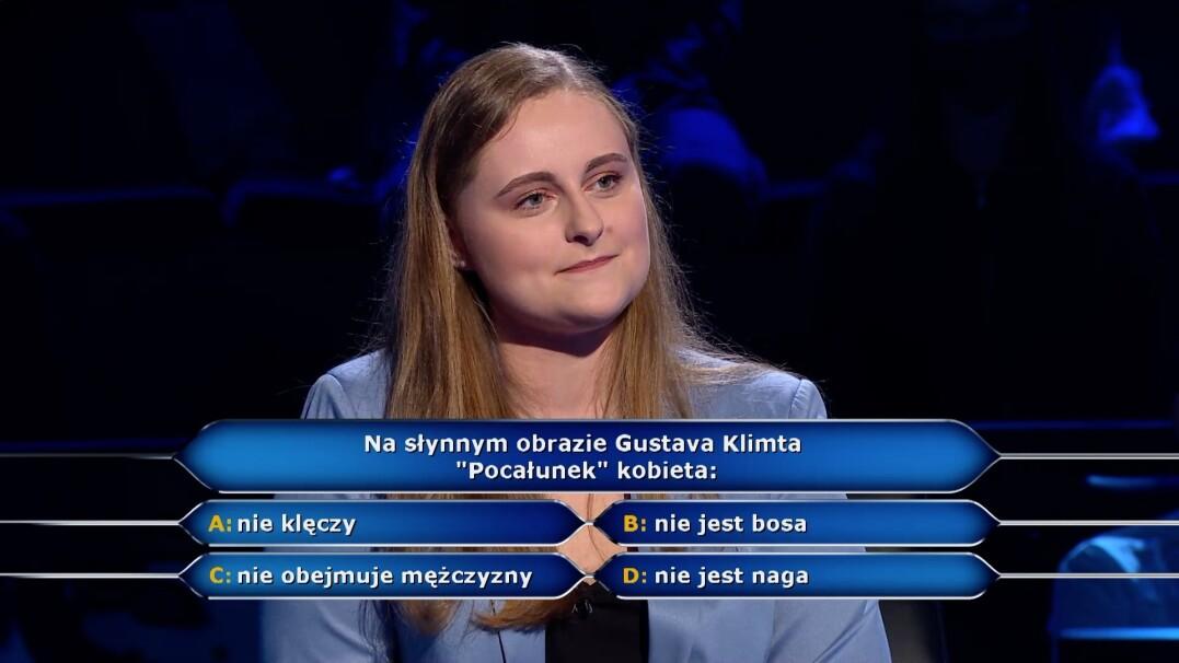 """Pytanie w """"Milionerach"""" o obraz """"Pocałunek"""" Gustava Klimta"""