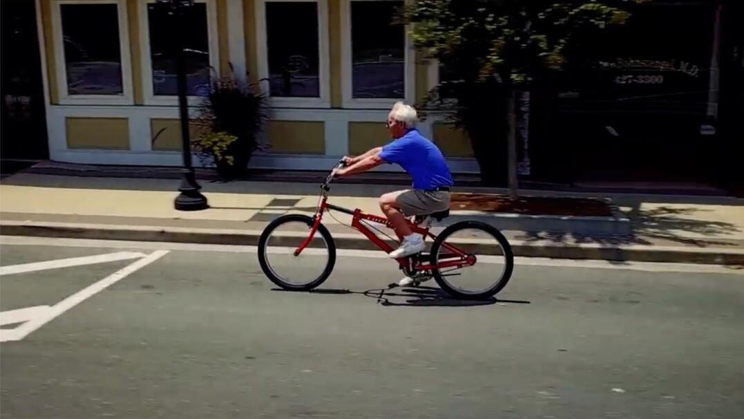 Trening całego ciała podczas jazdy na rowerze