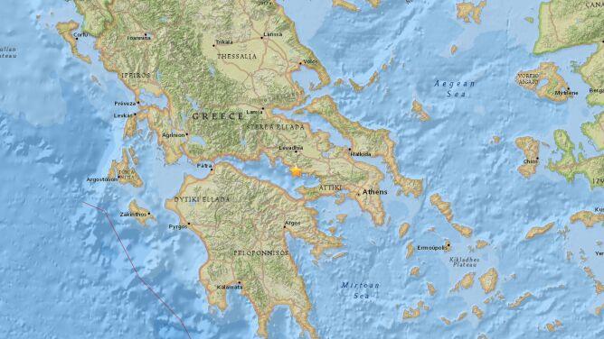 """""""Było dość mocne, obudziło mnie"""". <br />Trzęsienie ziemi w Grecji"""