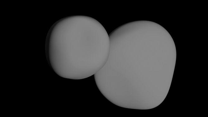 Bałwan okazał się naleśnikiem. <br />NASA pokazała kolejne zdjęcia