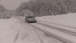 Śnieg w Chorwacji. Poważne problemy na drogach