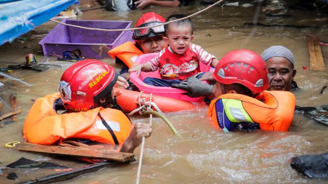 """""""Jedne z najbardziej ekstremalnych opadów"""" zabiły ponad 40 osób"""