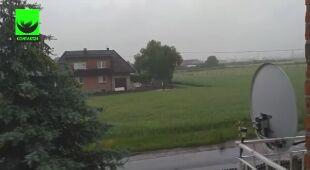 Ulewa w Kaliszu