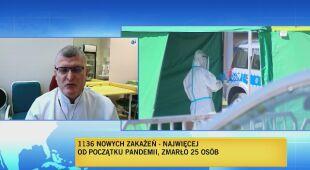 Grzesiowski o sytuacji epidemiologicznej w Polsce