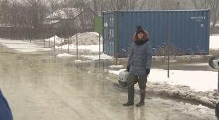 Mieszkańcy zalanych ulic o powodzi